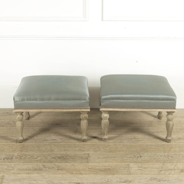 Matched Pair of French Late 19th Century Footstools SB889964