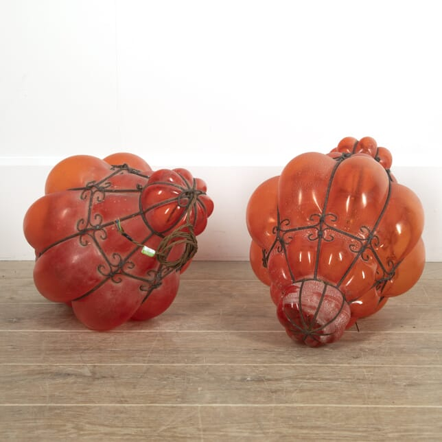 Pair of Large 1950s Murano Cage Lanterns LL2914979