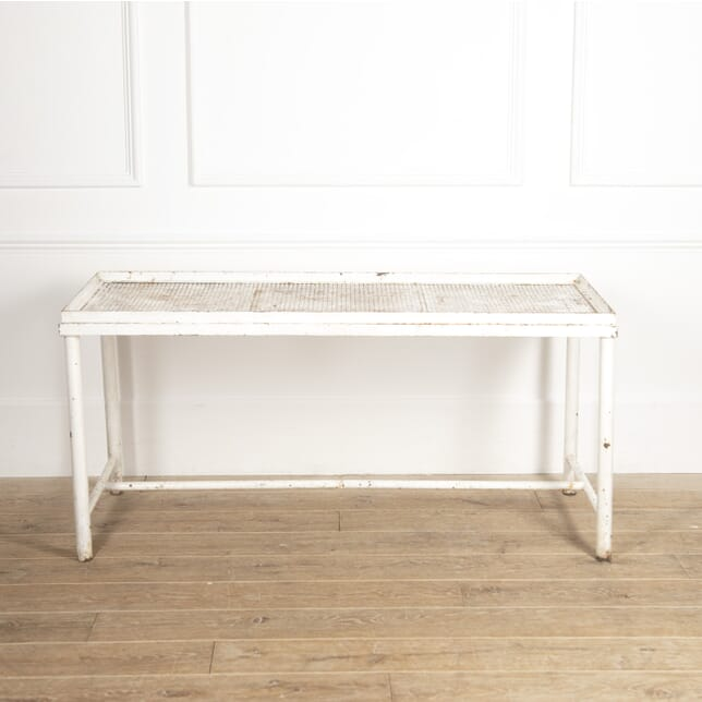 French Mategot Style Iron Florist's Table GA1516502