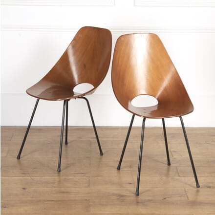 Pair of Mid Century 'Medea' Chairs CH7616924