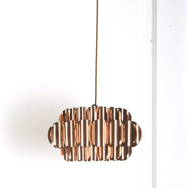Medium Copper 3 Tier Copper Pendant Light LL539601