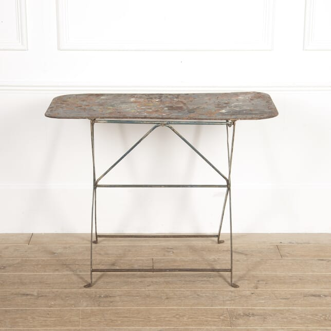 French Metal Artist's Table TA3015045