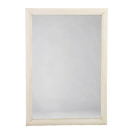 Simple Gesso Reeded Frame Mirror MI0113440