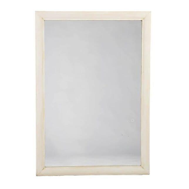 Simple Gesso Reeded Frame Mirror MI0113440