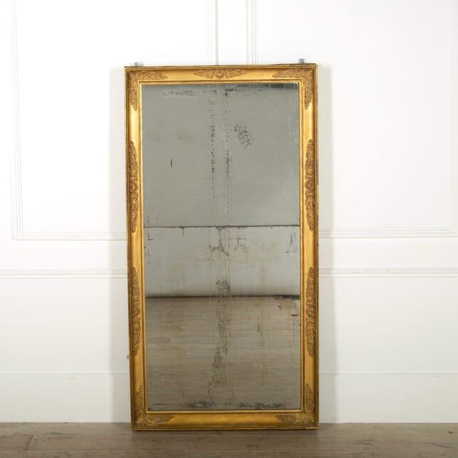 Large 19th Century Gilt Mirror MI0657472