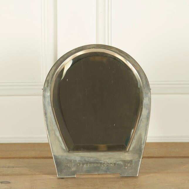 Art Deco Silver Plate Table Mirror MI1357839