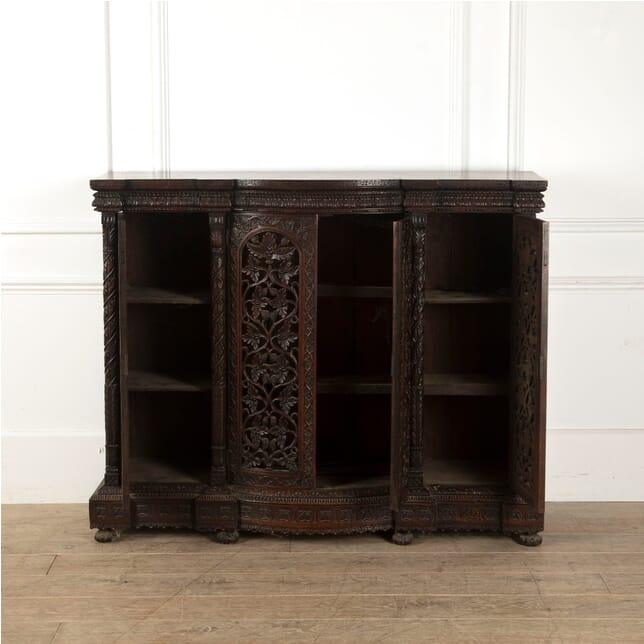Mid 19th Century Burmese Three Door Cabinet BU8811497