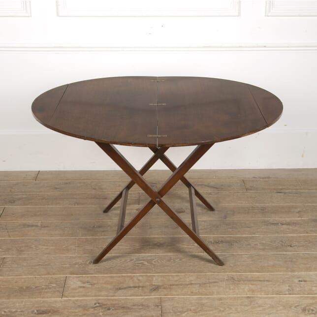 English 19th Century Mahogany Folding Table TC8815618