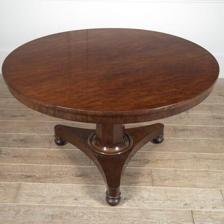 English 19th Century Mahogany Breakfast Table TD8816472