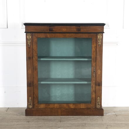 Mid 19th Century English Walnut Pier Cabinet BK8813657