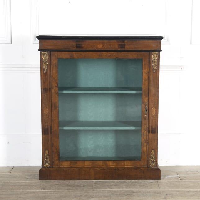 Mid 19th Century English Walnut Pier Cabinet BK8813657