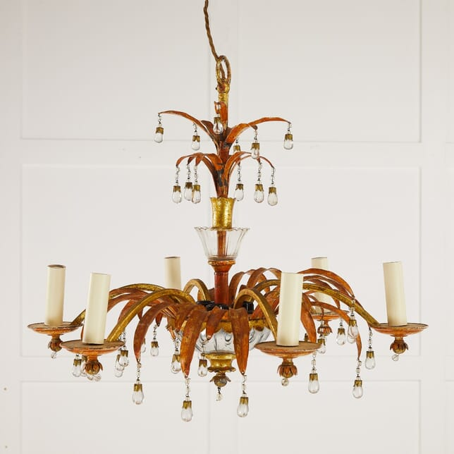 Mid 20th Century Chandelier by Maison Bagues LC0610186