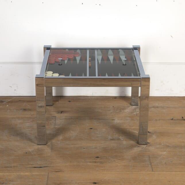 Mid Century Backgammon Table CO8715853
