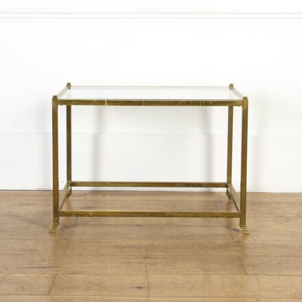 Mid Century Brass Side Table CO3617333