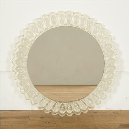Mid Century Circular Lucite Mirror MI439843