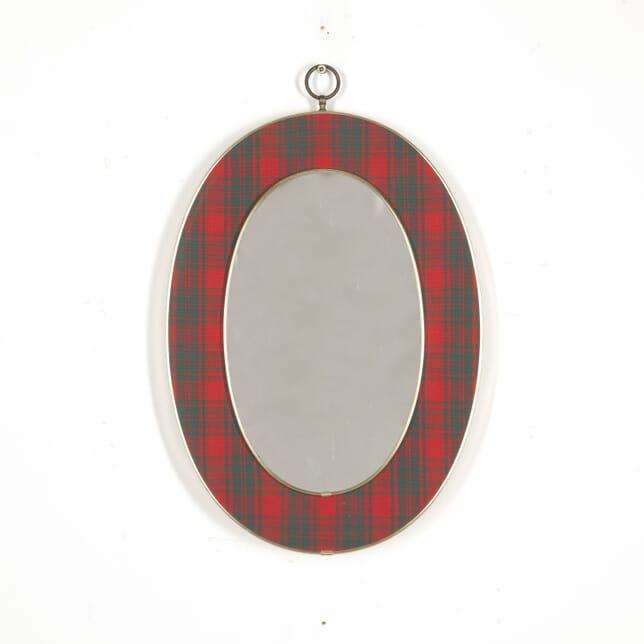 Italian Mid Century Tartan Mirror MI2914980