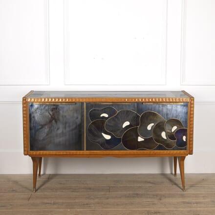 Mid Century Murano Glass Console BU0116980