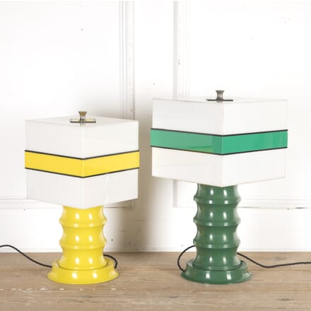 Pair of Mid Century Liquorice Lamps LT8715822