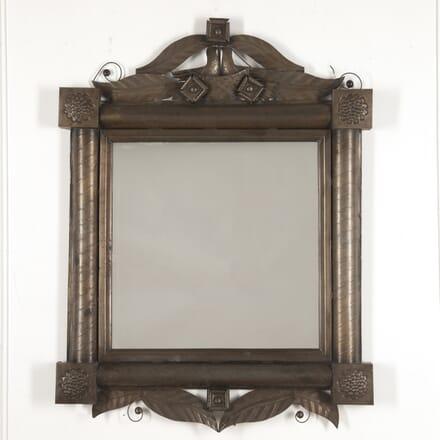 French Mid Century Tole Marriage Mirror MI1515396