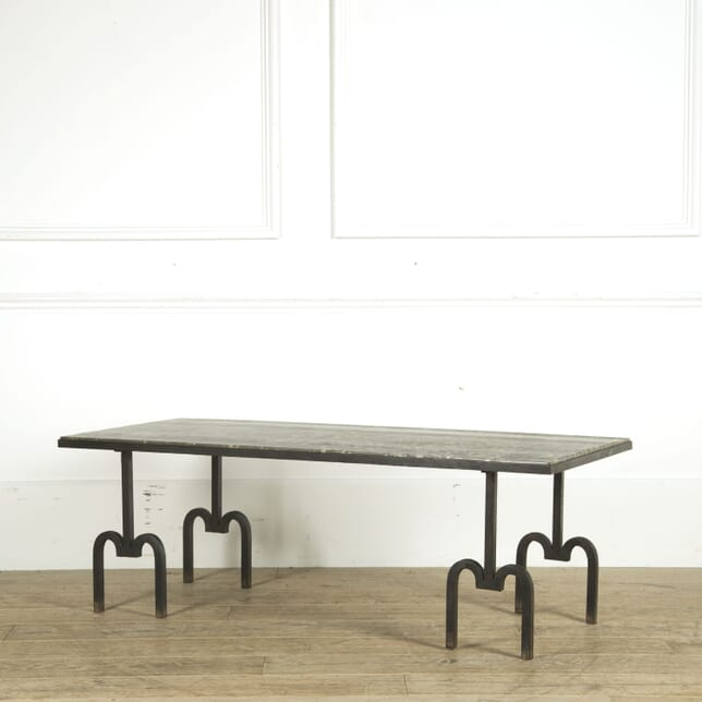 Mid Century Wrought Iron Low Table CT299351