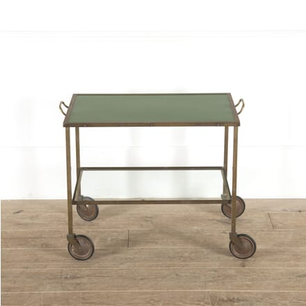 Modernist Brass and Glass Drinks Trolley TS7814478