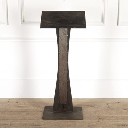 Modernist Industrial Steel Lectern DA7814470