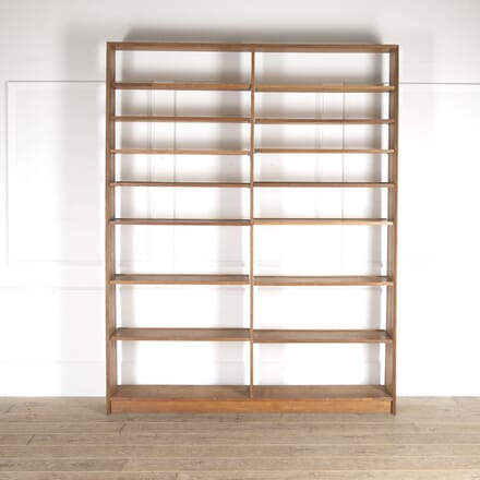 Modernist Oak Bookcase BK0514395
