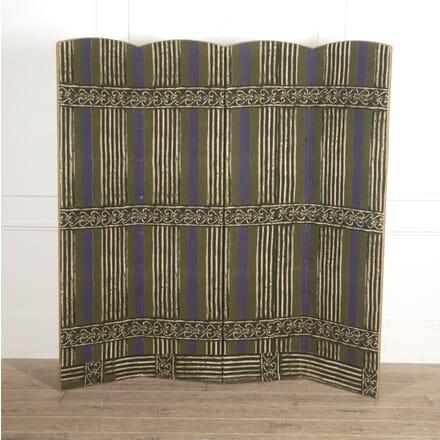 Modernist Textile Screen DA7815293