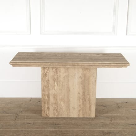 Modernist Travertine Console Table CO7814486