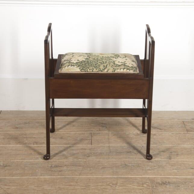 Morris & Co 'Hampton Court' Piano Stool ST7815722