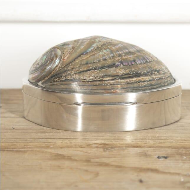 Italian Silver and Shell Box DA1515247