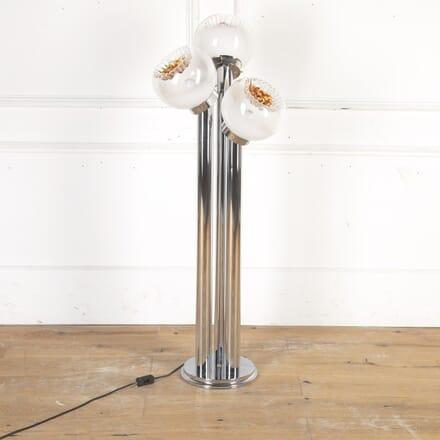 Murano Glass and Chrome Lamp by Carlo Nason LF8715384