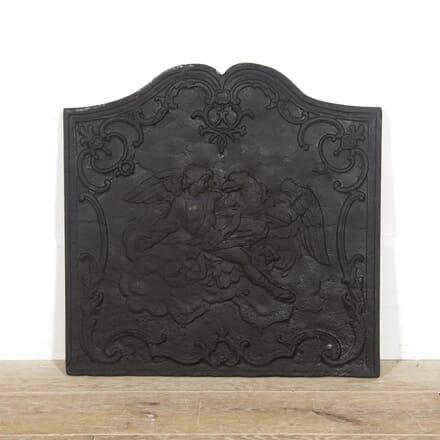 Neo Classical Revival French Iron Fireback DA1516493