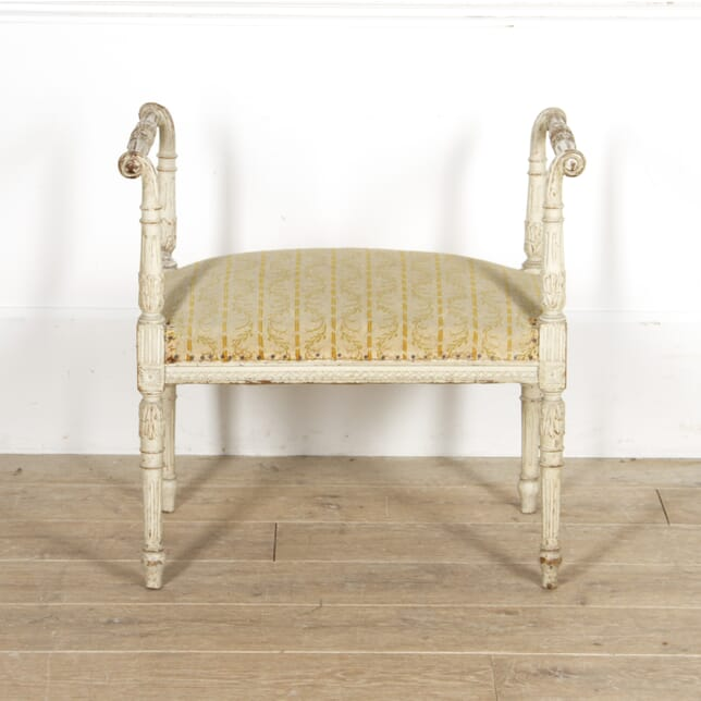 Neo-Classical Revival Swedish Stool CH1517620