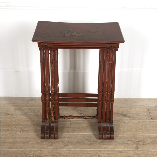 Nest of Lacquered Chinoiserie Tables TC1515390