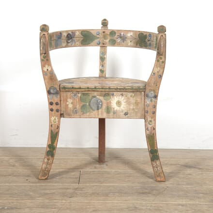 Decorative Norwegian Child's Chair CH2015839