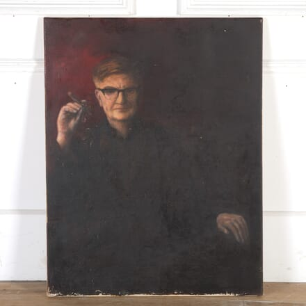 Oil on Canvas Portrait by Henry Campbell FRSA. WD8013777