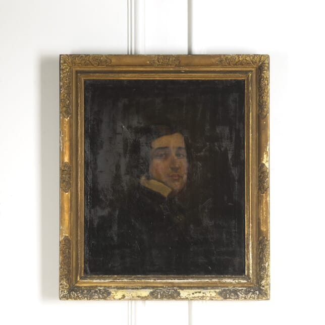 Oil Painting of a Gentleman WD1310004