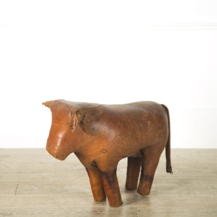 Omersa Leather Bull Foot Stool ST119196