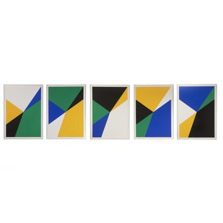 Op-Art Screen Prints by Almir da Silva Mavignier WD7616595