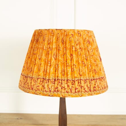 Orange with Deep Red Silk Lampshade LS669036