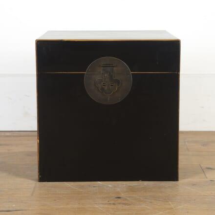 Oriental Lacquered Cube Chest DA9016117