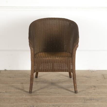 Original 1930s Lusty Lloyd Loom Armchair CH2913556