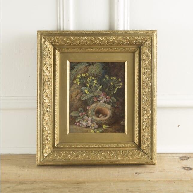 Original 19th Century Oil on Canvas WD889639