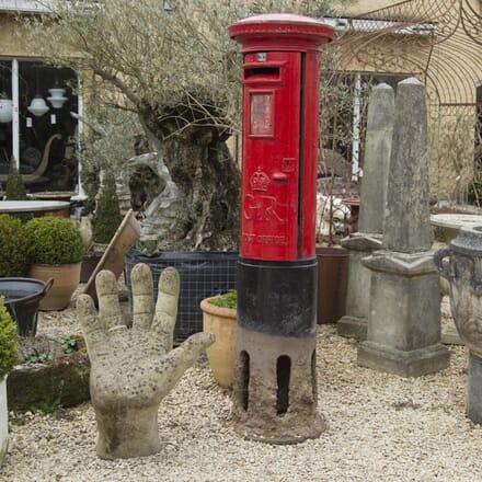 Original Cast Iron GR Royal Mail Post Box GA4210091