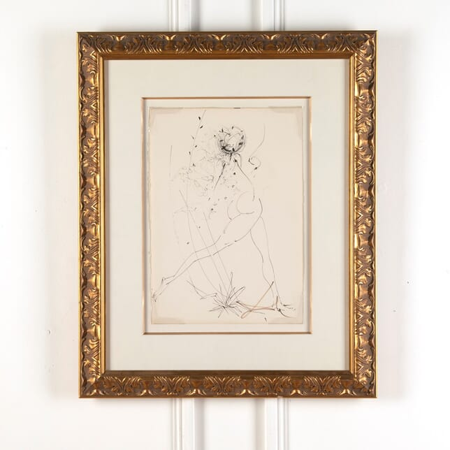 La Fille en Fleur -  Salvador Dali WD9010808