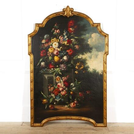 Large Dutch Still Life Oil on Canvas WD8817372