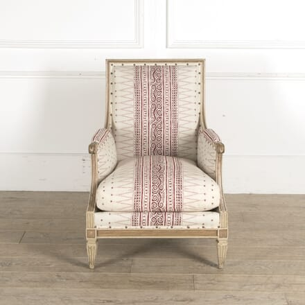 Original Painted French Bergere in Louis XVI Style CH9210303