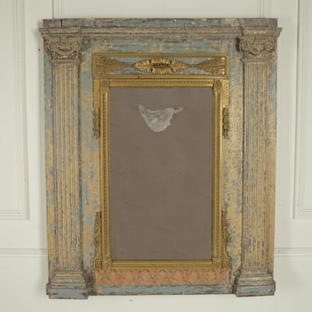 Original Painted French Mirror MI0410333