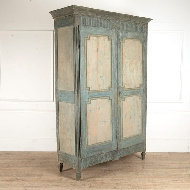 Original Painted Louis XVI Armoire CU9911352